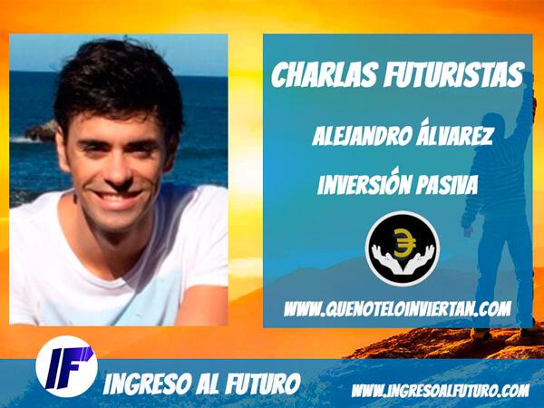 Charlas Futuristas: Entrevista a Alejandro Álvarez